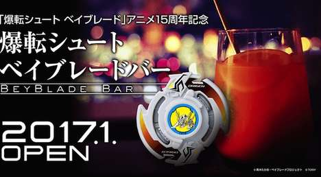 Spinning Toy Bars - Takara Tomy is Opening Up a Beyblade Bar in Japan for Adults