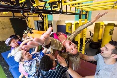 Crowdsurfer Workout Classes - Gym Box and Stubhub Teamed Up to Offer a 'Crowd Surf Ready' Class