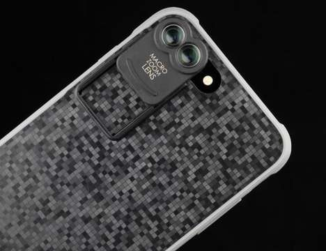 Dual-Lens Smartphone Photography Kits - The Kamerar 'ZOOM' iPhone Lens Kit Upgrades Capabilities