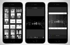 Digital Darkroom Apps - 'Darkr' is a Photo Developing App that Stars with a Negative