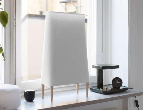 Air-Purifying Designer Lamps - The Sunnaform S5 Air Purifier Removes Allergens in a Designer Frame