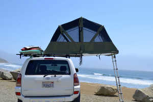 The Tapui Baja Series Roof Tent Keeps Campers High and Dry