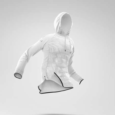Hybrid Sweater Jackets - Mike Campau's 'Swacket' is a Concept for Under Armour