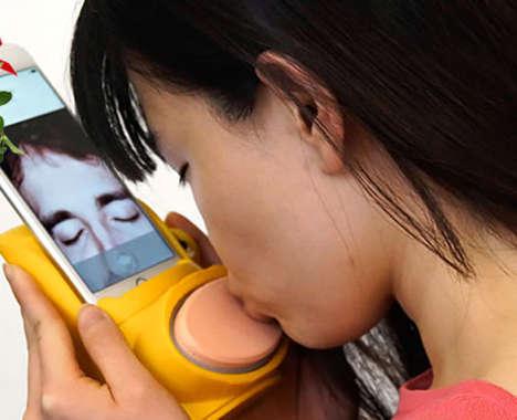 Virtual Kissing Devices