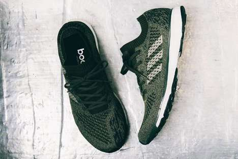 Lightweight Olive-Hued Sneakers - adidas' 'Adizero Prime LTD' is Now Offered in Military Green