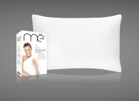 Mineral-Infused Pillowcases - mē's 'Glow' Anti-Aging Pillowcase Promises Youthful Glowing Skin