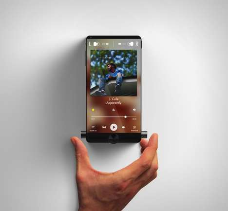 Music-Focused Smartphone Designs - The Sony Xperia Walkman Music Smartphone is a Multipurpose Device