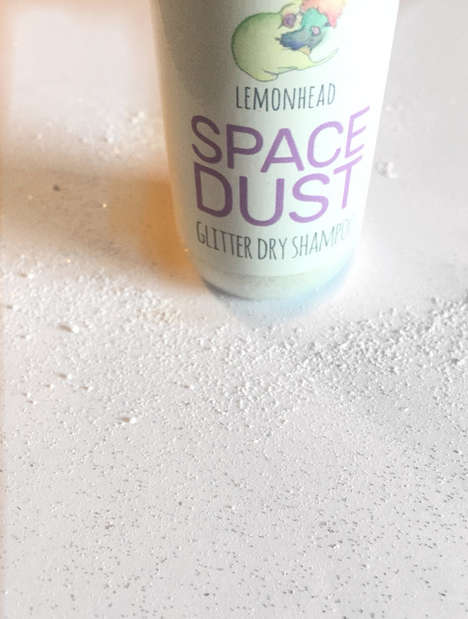 Glittering Dry Shampoos - Lemonhead's 'Spacedust' Hair Dry Shampoo is Infused with Glitter