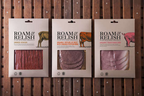 Humanity-Focused Organic Meats - This Meat Branding Tells Consumers of Its Focus on Animal Rights
