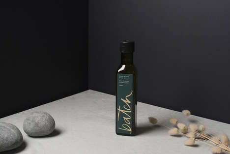 Small Batch Artisanal Oils - This Artisanal Olive Oil Collection Offers a Personal, Homemade Look