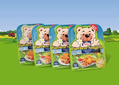 Kid-Friendly Vegetarian Nuggets - Reinert Created a Line of Vegetarian Food for Kids