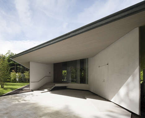Sharp Scalene Roofs - 'Karuizawa Tunnel' is a House in Japan's Nagano Prefecture