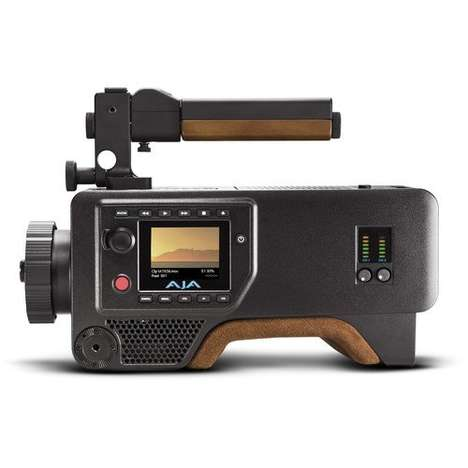 Dynamic 4K Production Cameras - The AJA Cion Production Camera is Prepared for Advanced Recording