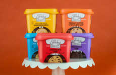 Flavored Vegan Cookie Dough