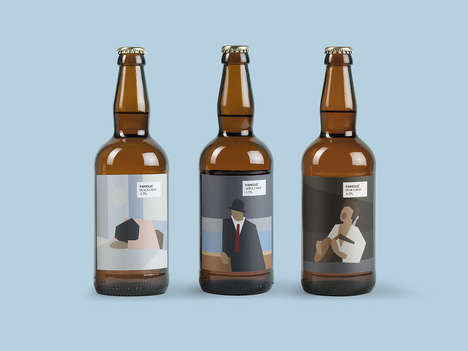 Famous Art-Branded Ciders - 'FAMOUS Cider' Features Unique Interpretations of Famous Paintings