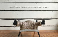 San Francisco-Based Artist Danielle Baskin Sells Sweaters for Drones
