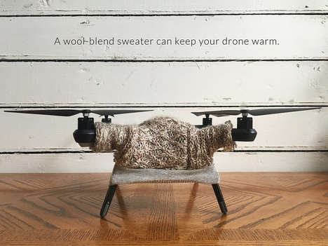 Decorative Drone Sweaters - San Francisco-Based Artist Danielle Baskin Sells Sweaters for Drones
