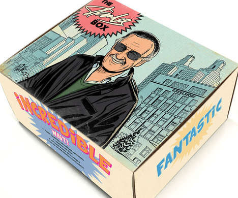 Comic Geek Subscription Boxes - The Stan Lee Subscription Box Service Comes Packed with Memorabilia