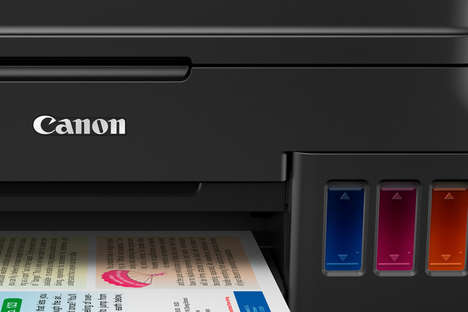 Refillable Printer Catridges - The Canon G-Series Printers Come with Special 'MegaTank' Cartridges