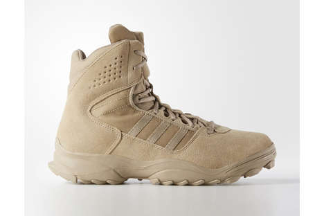 Military-Inspired Sneaker Boots - The 'GSG 9.3' from adidas Draws from the German Special Forces