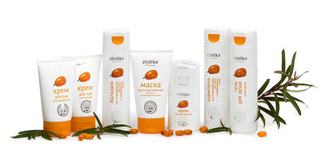 Ancient Ingredient Cosmetics - The Altalika Cosmetics Collection is Made Using Altai Sea Buckthorn