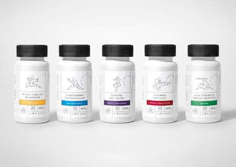 Warrior-Inspired Supplements - Wild Health Warriors Makes Chinese-Inspired Supplements for Health