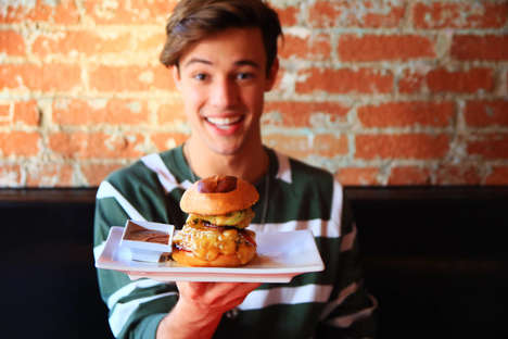 Social Media Star Burgers - Umami Burger Has Teamed Up with Cameron Dallas to Create a New Burger