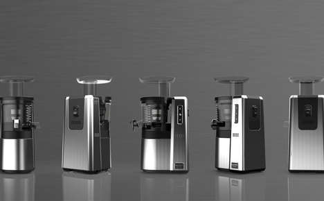 High-Capacity Professional Juicers - The HW-SBF15 Commercial Juicer is Designed for Intensive Usage