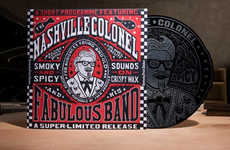 Promotional Fast Food Vinyls - KFC Created a Nashville Hot Record Album to Honor Its Fried Chicken