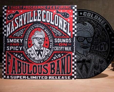 Promotional Fast Food Vinyls