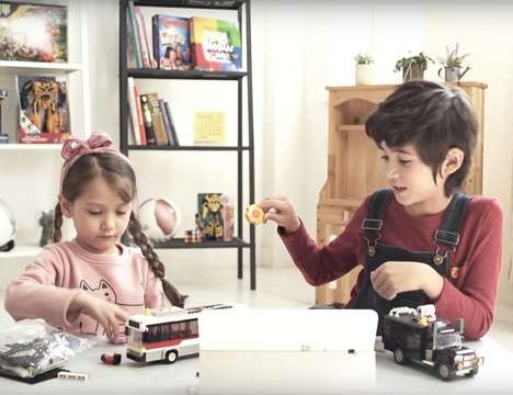 Reactive IOT Smart Toys - The Samsung 'Tag+' Smart Toy Device Responds to Different Actions