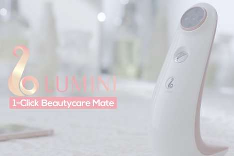 Digital Beauty Advisor Devices - The Samsung 'Lumini' Can Detect Skin Problems with Digital Photos
