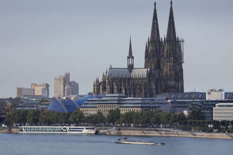 Renovated Historical Roofs - Neue Direktion Köln in Cologne Features a New Roof on an Old Building
