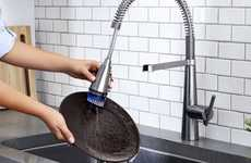 Dish-Scrubbing Faucets - The American Standard Edgewater Semi-Professional Kitchen Faucet is Useful