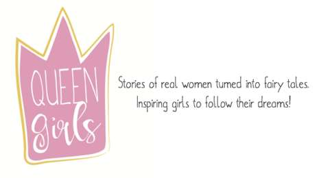Female-Empowering Children's Stories - 'Queen Girls' Provides Young Girls with Positive Role Models