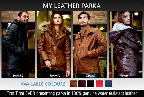 Leather Parka Designs - These Elegant Parkas Were Designed to Suit Different Occasions