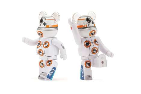 Galactic Robot Collectibles - Medicom Toy's BB-8 Figurine Infuses the Robot into the Shape of a Bear