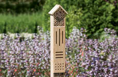 Bug-Friendly Garden Houses