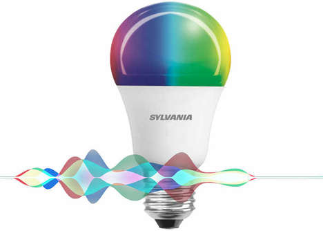 Voice-Enabled Smart LED Bulbs - The Sylvania Smart Multicolor A19 Bulb will Unveil at CES 2017