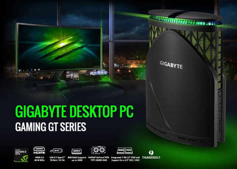 Compact Powerful Gaming PCs - The GIGABYTE 'BRIX' Video Gaming PC Has Impressive Specs