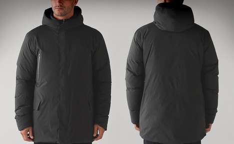 Minimally Branded Parkas - The Lululemon 'Stay Puff' Winter Parka Has Stylishly Smooth Lines