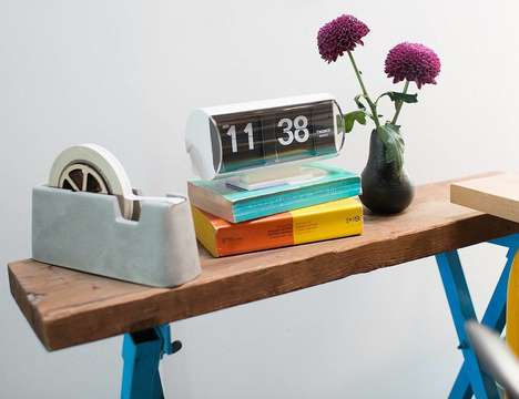 Anti-Smartphone Flip Clocks - The Schoolhouse Electric & Supply Co. Analog Flip Clock is Simple