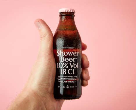 In-Shower Beer Beverages