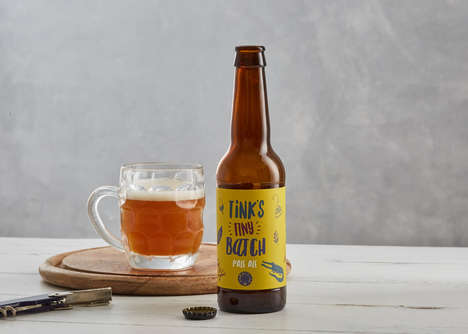 Fantastical Literature Beers - Tink's Tiny Batch is a New Beer Product Inspired by Peter Pan