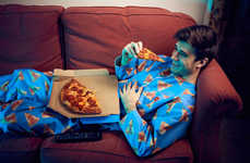 """Branded Pizza Onesies - Domino's Made a """"Wipeable"""" Onesie That Works Like a Wearable Napkin"""
