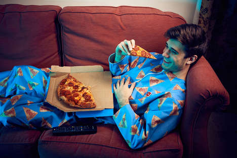 "Branded Pizza Onesies - Domino's Made a ""Wipeable"" Onesie That Works Like a Wearable Napkin"