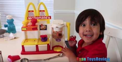 Kid-Run Toy Review Channels - Five-Year-Old Ryan of 'Ryan's Toy Review' is a New YouTube Sensation