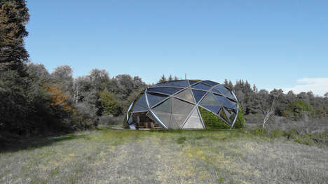 Customized Eco Homes - The eXo/nat Concept is a Modern and Adaptable Alternative to Green Living