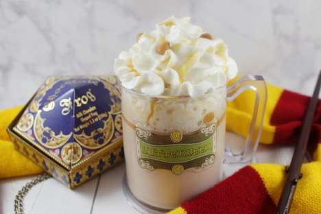 Magical Hot Cocoas - This Butterbeer Hot Chocolate Recipe Has a Decadent Harry Potter Influence