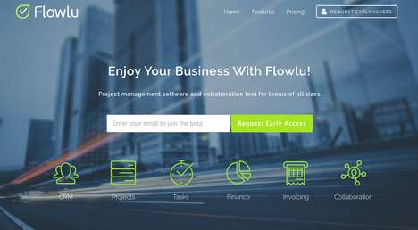 Project Management Startups - Russian Startup Flowlu Provides Cloud-Based CRM for Business